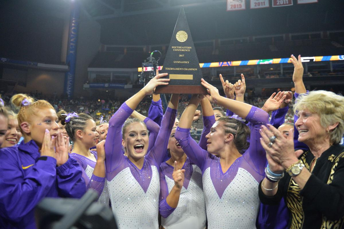 2017 Sec Champs >> Tumbling on the river: Smoothie King Center to host 2019 SEC gymnastics championship | LSU ...