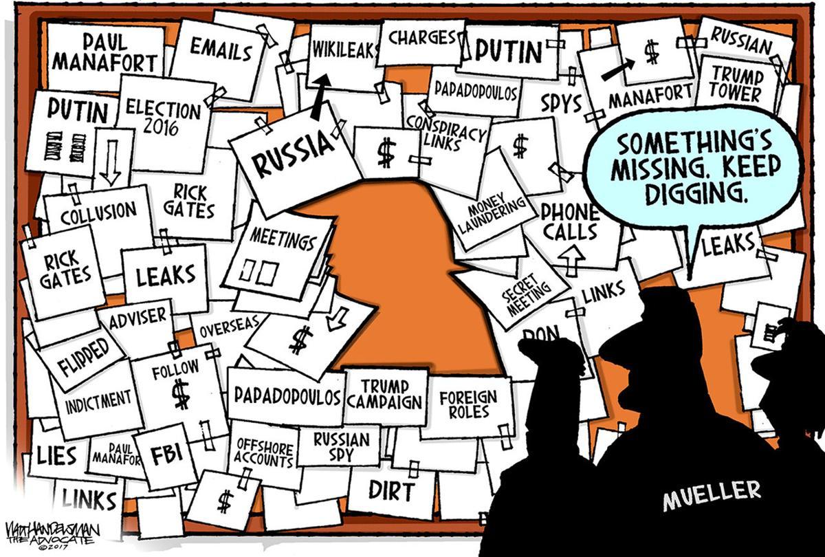 Walt Handelsman: Mueller Probe