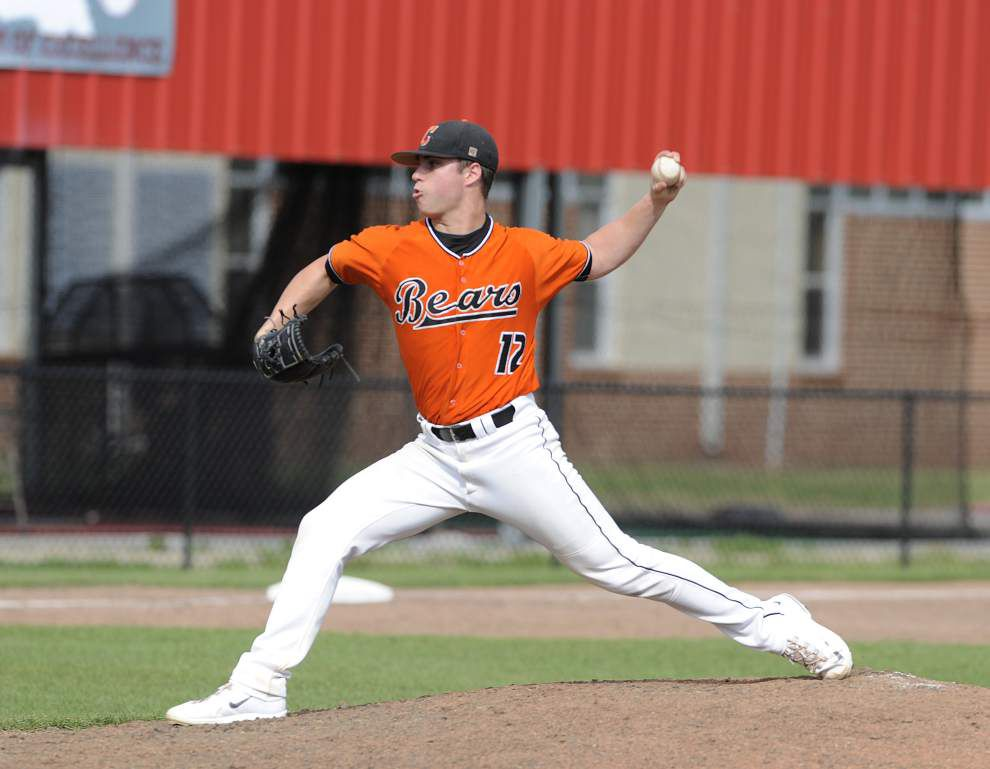 Catholic-BR pitcher Ross Massey has Teurlings' number _lowres