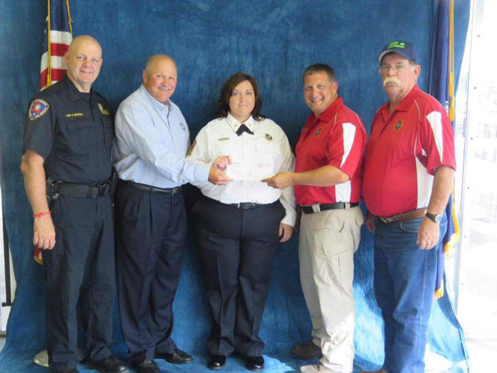 Ascension firefighters receive state grant funds _lowres