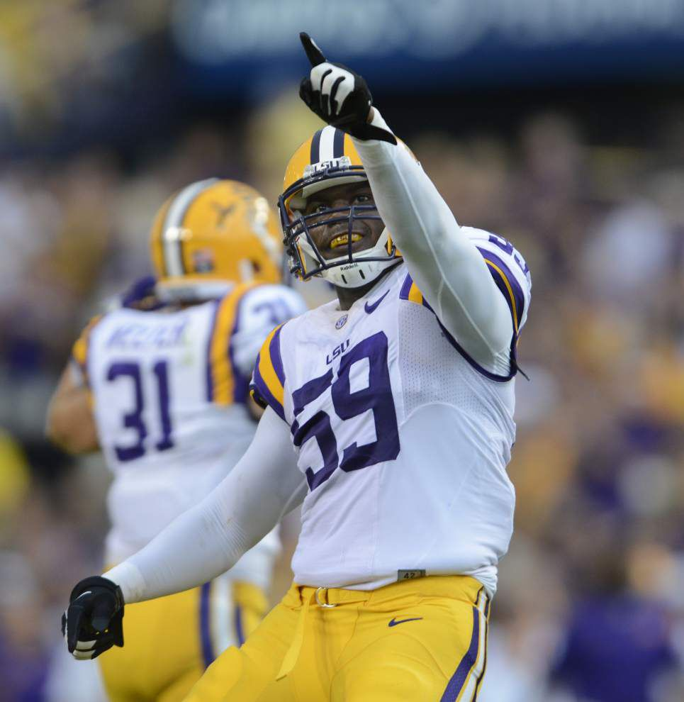 LSU defensive end Jermauria Rasco finally healthy — and effective _lowres