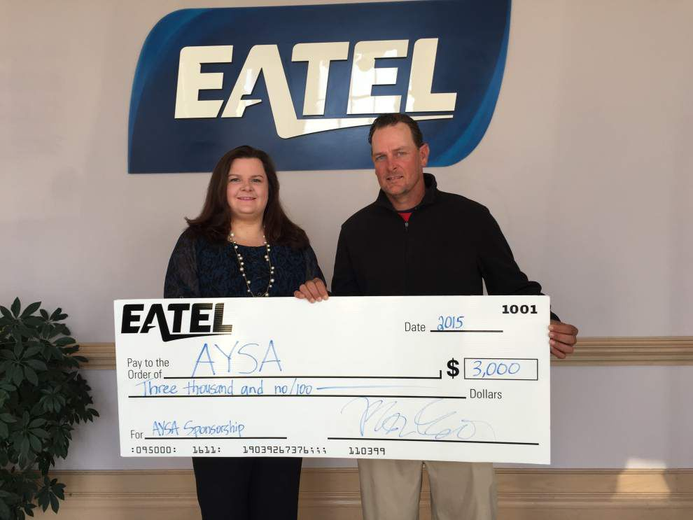 Eatel renews partnership with Ascension Parish youth groups _lowres