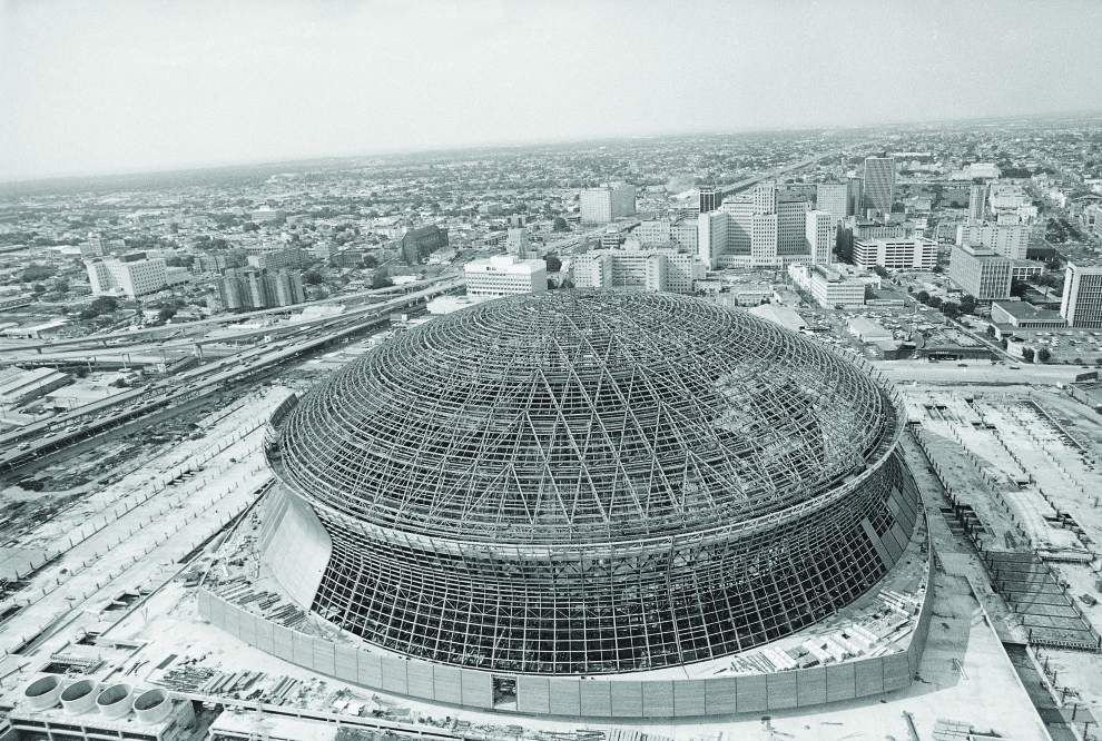 Designed to be 39 greatest building in the history of for Mercedes benz superdome new orleans la