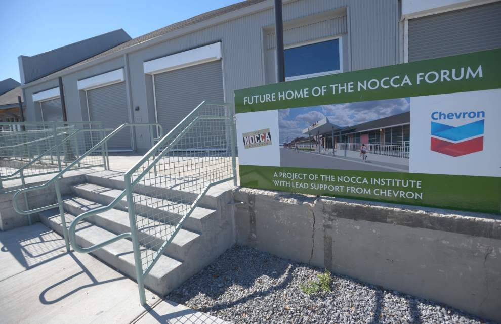 New gallery space opens in renovated warehouse at NOCCA _lowres