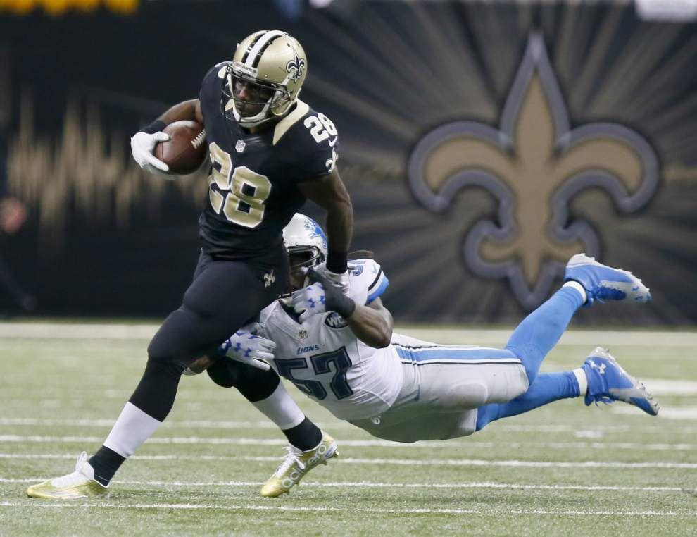 Photos: Saints' comeback falls short against Detroit Lions on Monday Night Football _lowres