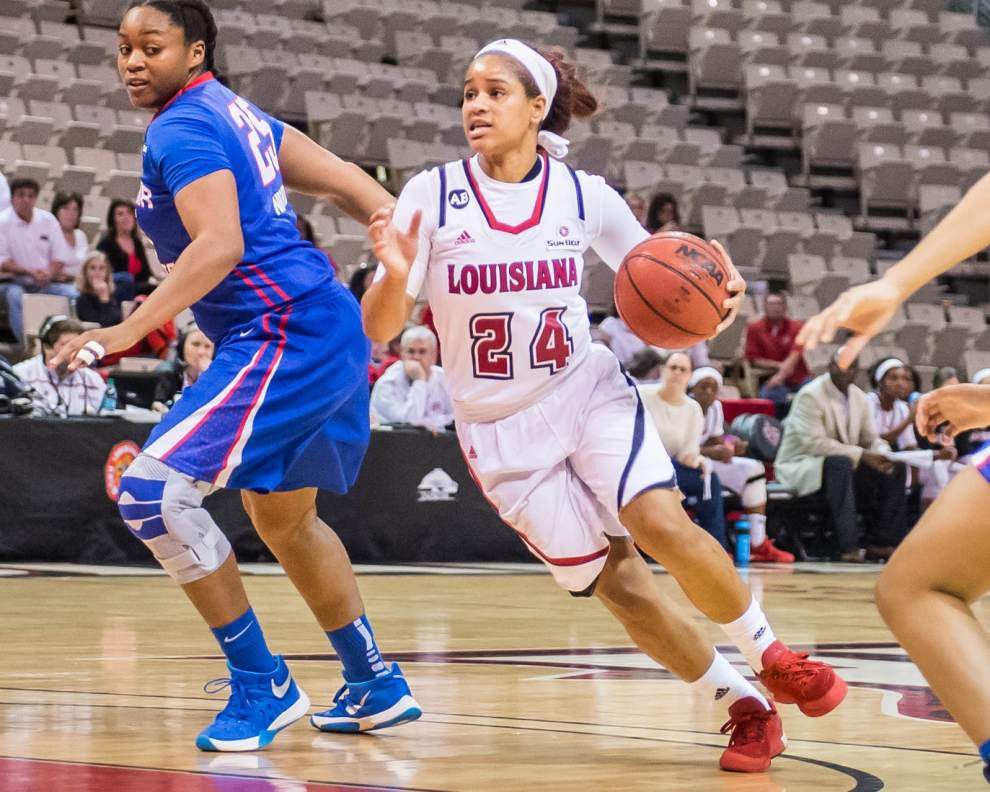 UL-Lafayette women go back to basics for Youngstown State _lowres