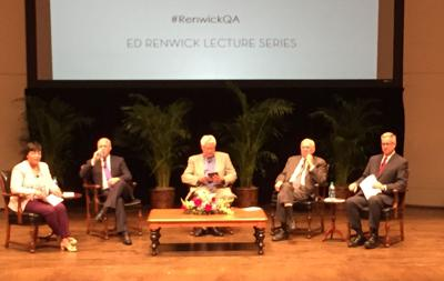 Four mayors of New Orleans reflected, joked at Loyola University tonight_lowres