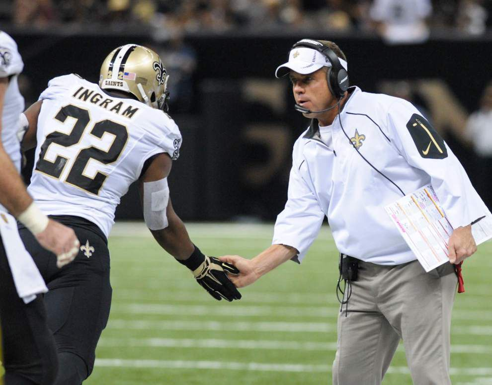 Saints coach Sean Payton mic'd up during Bucs game reveals frustration with pass rush, offensive line _lowres