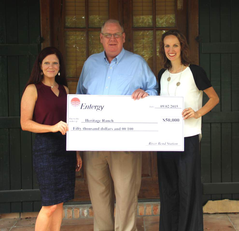 Heritage Ranch receives $50,000 Entergy grant _lowres