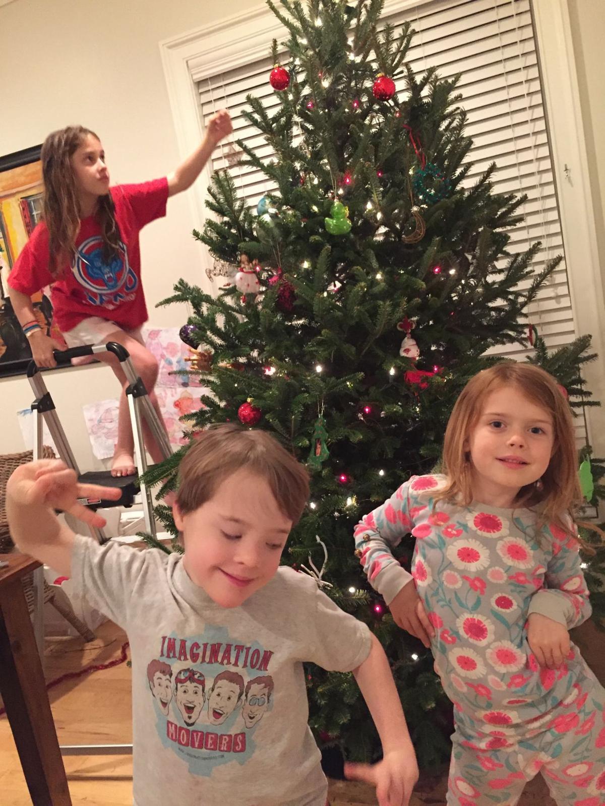 spera kids christmas tree