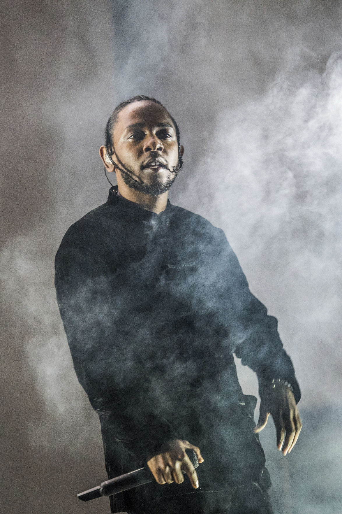 Kendrick Lamar at Coachella for Red