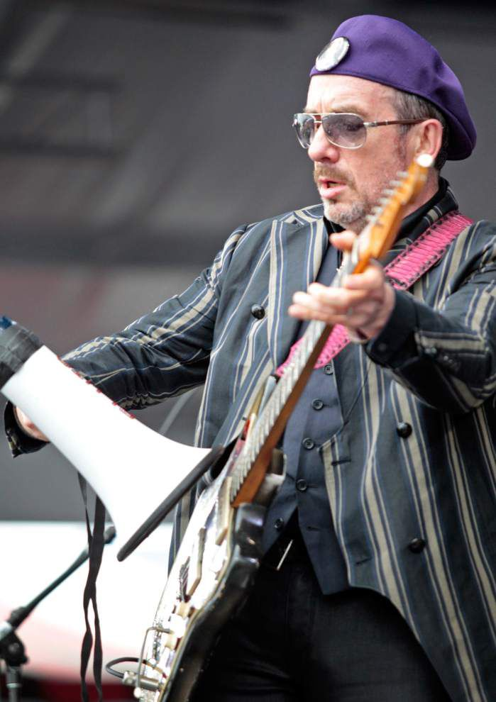 Elvis Costello remembers late Allen Toussaint, shares fond memories at Jazz Fest _lowres