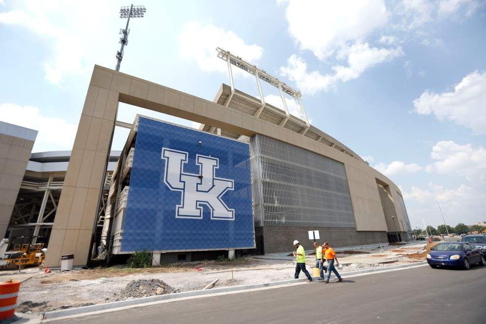 Kentucky to debut stadium renovations against UL-Lafayette _lowres