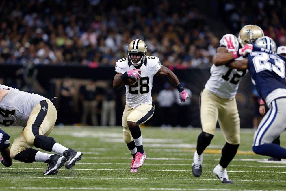 A look at Saints snap counts: C.J. Spiller's workload rising, Willie Snead's role expanding _lowres