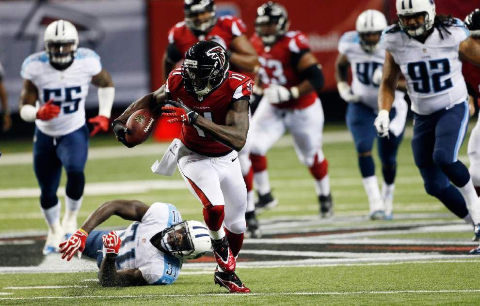 Falcons wide receiver Junio Jones says he's ready to roll _lowres