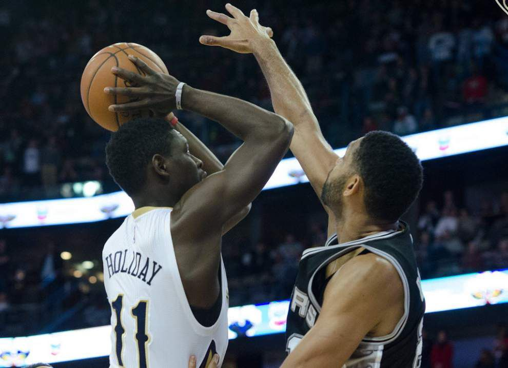 Pelicans guard Jrue Holiday not likely to return this season _lowres