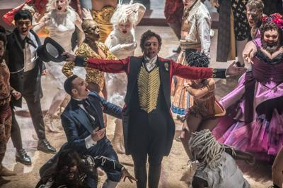 'The Greatest Showman' still 1 for Red