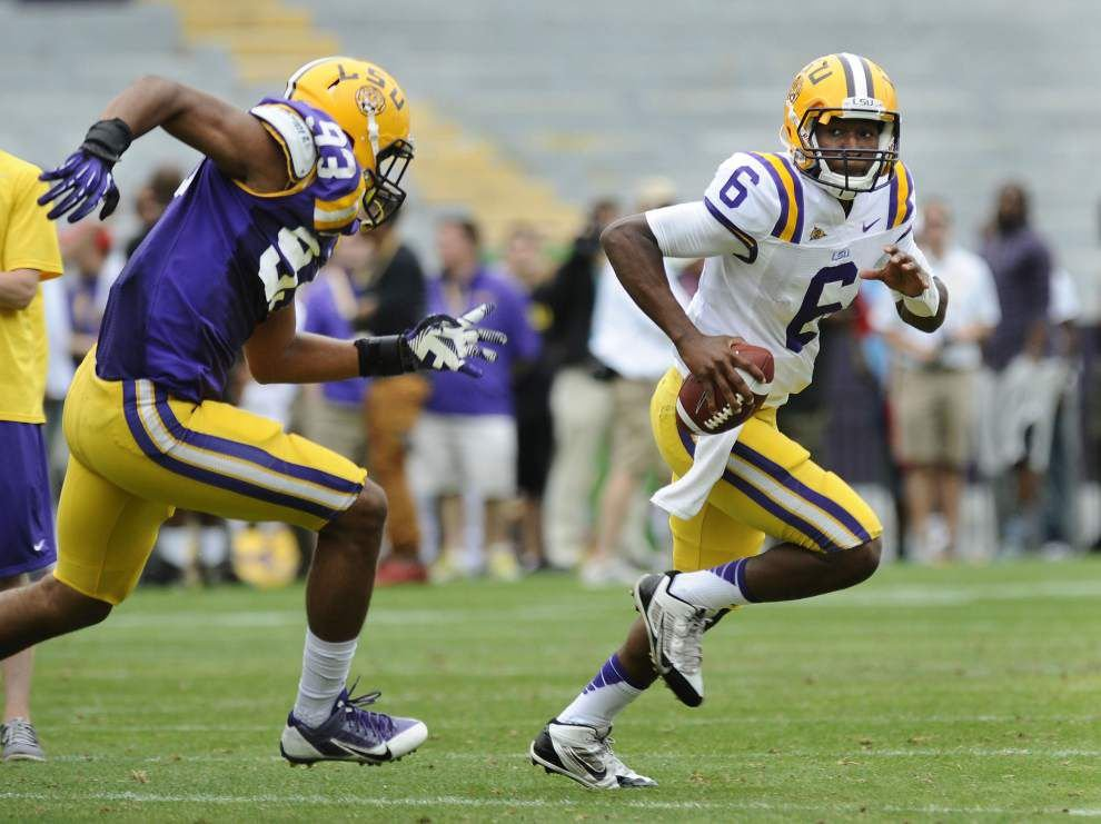 Photos: LSU spring game _lowres