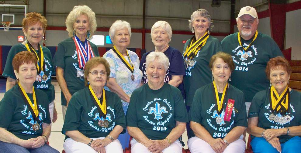 Harvey Golden Agers enjoy successes in Senior Olympics _lowres