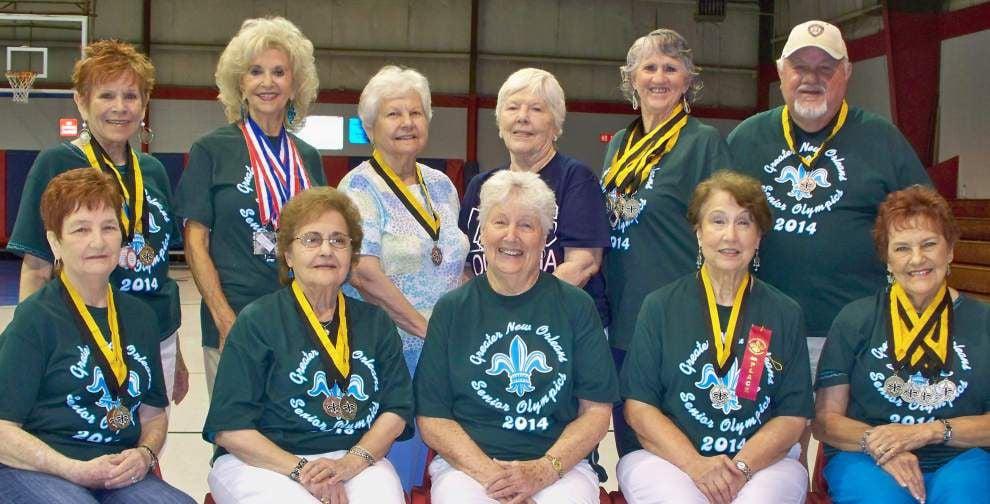 Harvey Golden Agers enjoy successes in Senior Olympics _lowres