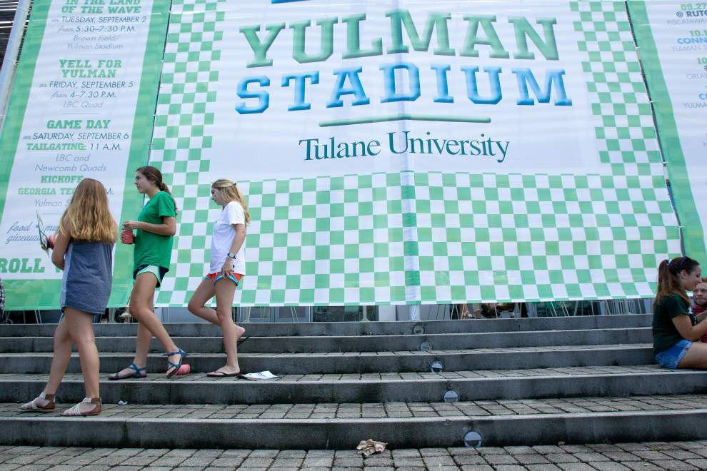 Tulane has tweaks in store for second game at Yulman Stadium _lowres