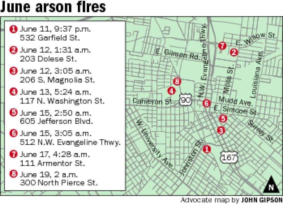 Fire inspectors still probing 8 June arsons _lowres