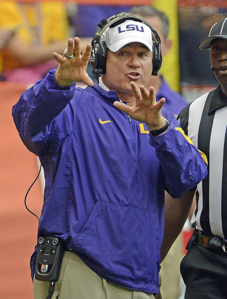 Scott Rabalais: Conservative but cunning, 'Lion'-Hearted Les Miles keeps winning at LSU _lowres