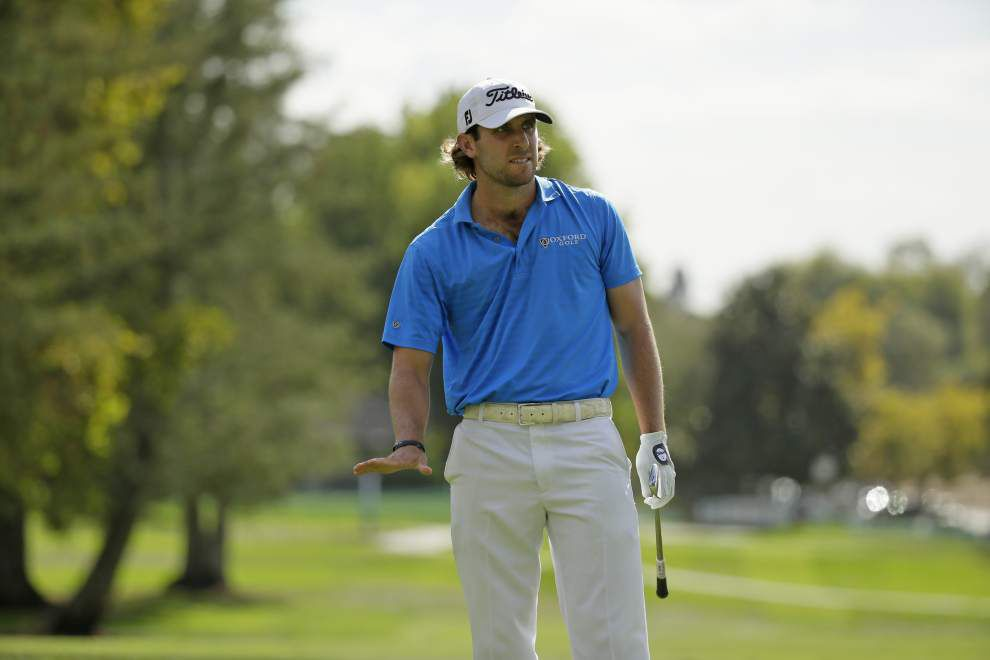 Ex-LSU golfer Andrew Loupe tied for first-round lead at Torrey Pines _lowres