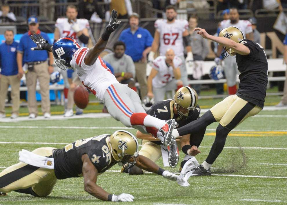 Scott Rabalais: Saints' wild win over Giants was unforgettable All Saints' Day 49 years in the making _lowres