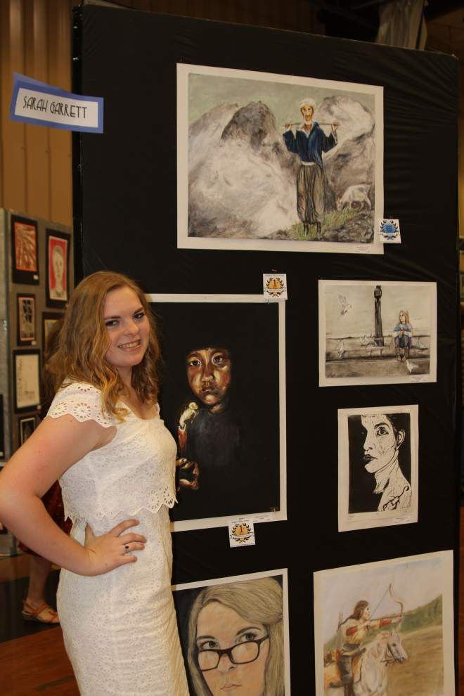 Runnels students compete in art show _lowres