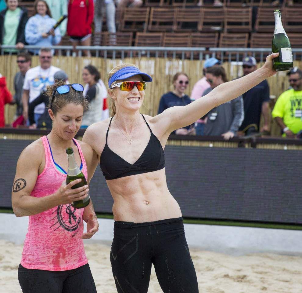Kendra Van Zwieten, Kim DiCello win AVP New Orleans Open women's title _lowres