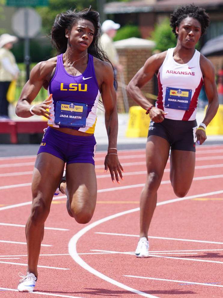 Fewer entrants mean LSU has little room for error at NCAA track meet _lowres