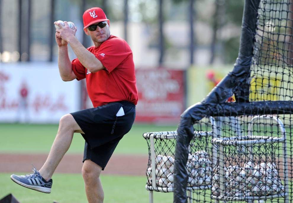 New hitting coach Jeremy Talbot finds the right fit at Louisiana-Lafayette _lowres