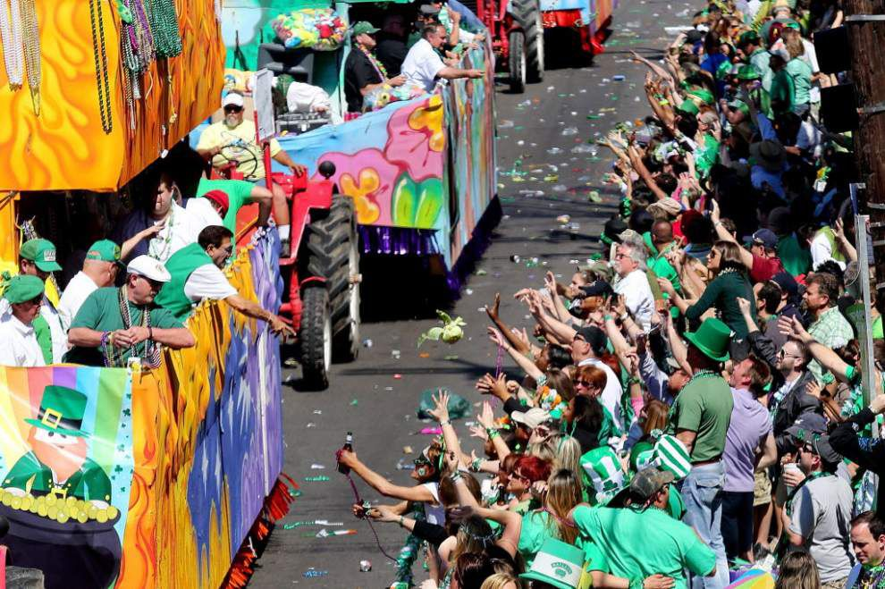 Woman sues over alleged injuries from St. Patrick's Day parade cabbage _lowres