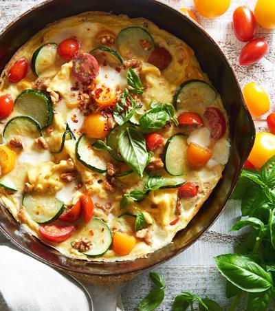 BHG Quick Zucchini and Tomato Frittata (c) Meredith Corpora.jpg