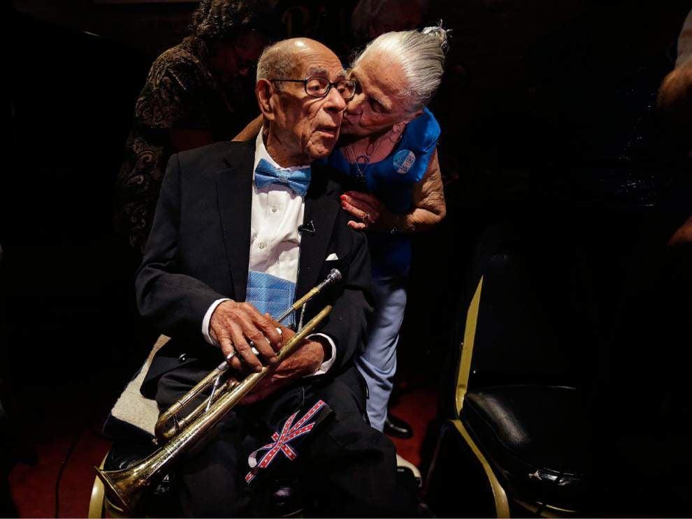 Beloved N.O. trumpeter Lionel Ferbos dies at 103 _lowres