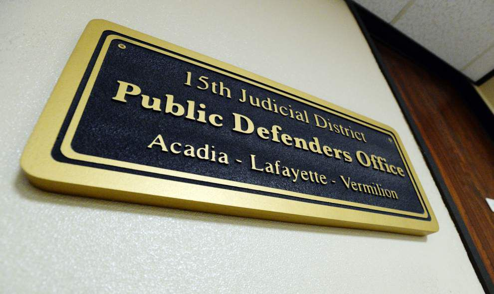 Public Defender: Cuts to legal services for the poor will cause a court system backlog in Acadiana for years to come _lowres