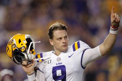 Image result for tj finley lsu practice
