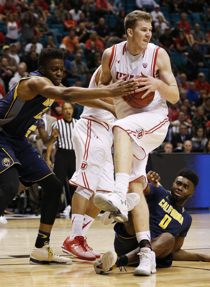 Will the New Orleans Pelicans go big in the NBA draft? Utah's Jakob Poeltl hopes so _lowres