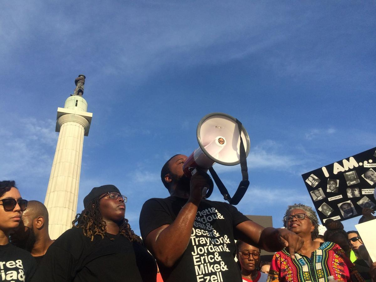 """This is what democracy looks like"": New Orleans rallies for justice, Black Lives Matter_lowres"