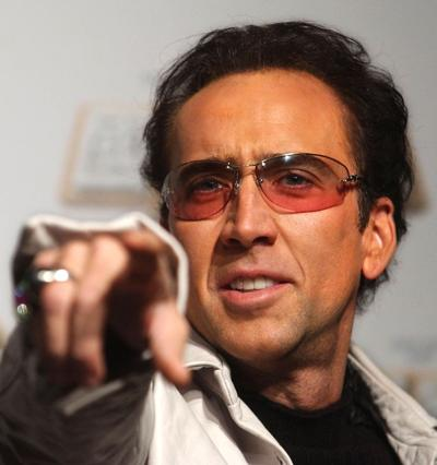 Nicolas Cage file photo