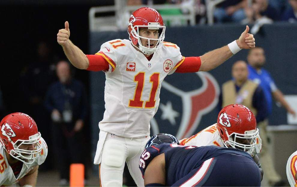 Chiefs quarterback Alex Smith enjoying 'the best season of his career' _lowres