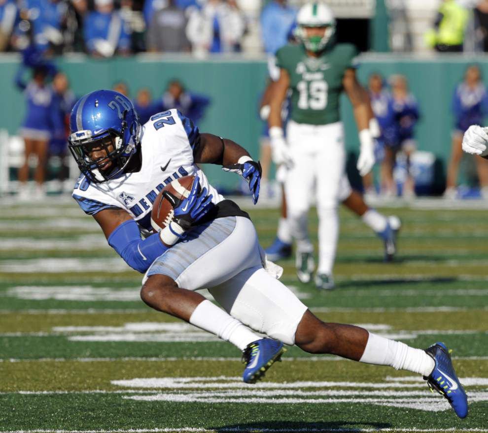 Tulane undone by five turnovers in 38-7 loss to Memphis _lowres
