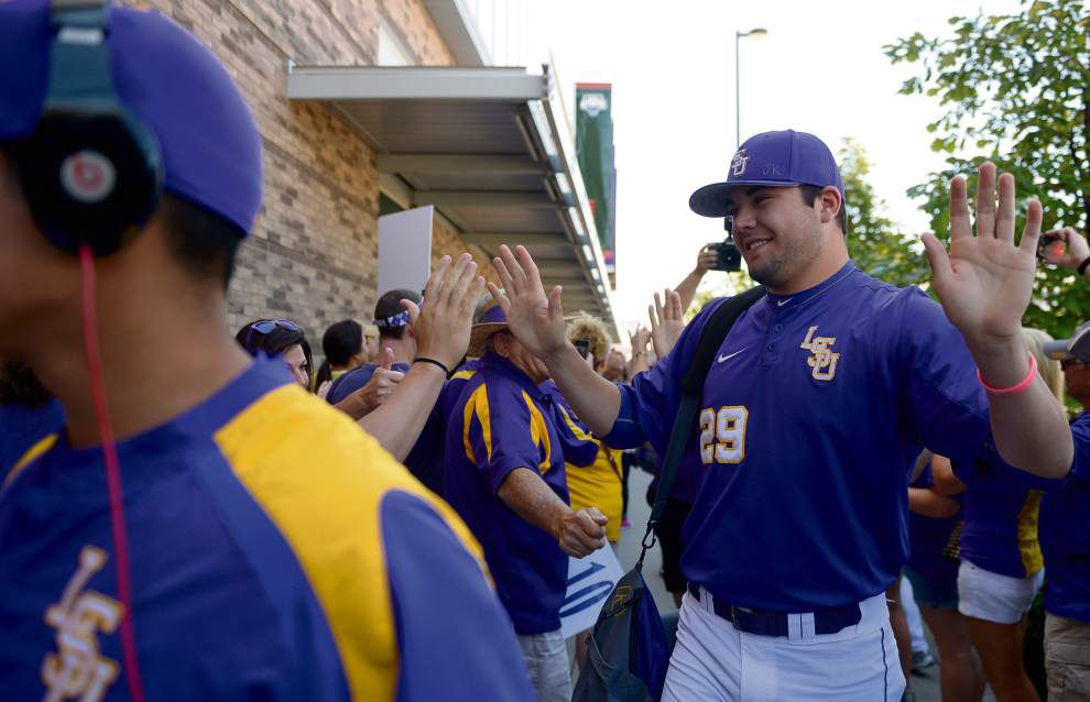 LSU pitchers Jake Godfrey, Doug Norman thrived in 'laid-back' atmosphere of summer ball ahead of hotly competitive fall practice _lowres