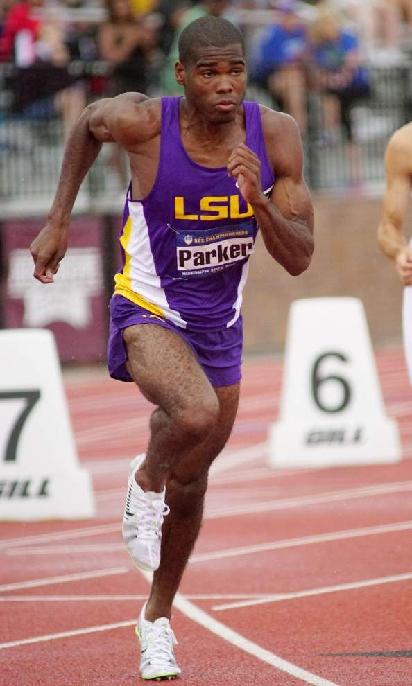 Rodney Brown, Julian Parker pace LSU men at SEC track meet _lowres