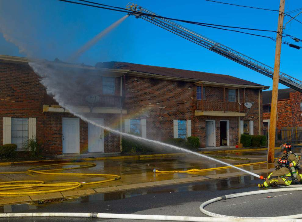 Investigators: Here's what caused massive Kenner apartment fire last week, left dozens homeless _lowres