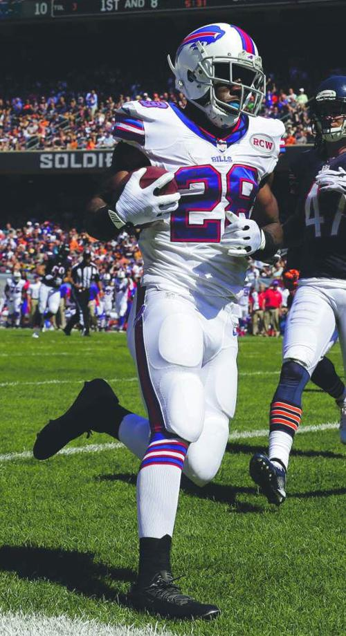 Nick Underhill: New Saints running back C.J. Spiller could be better than Reggie Bush, is prime for big season in New Orleans _lowres