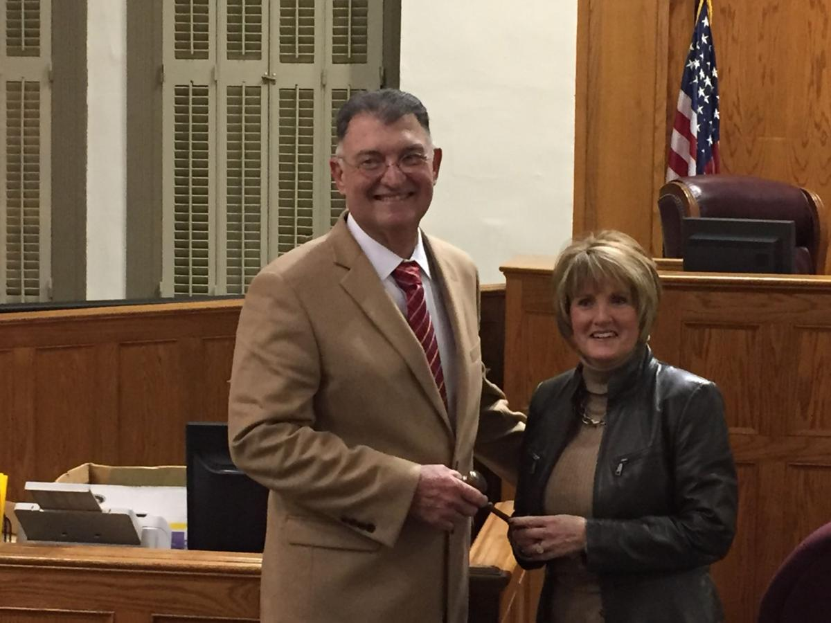 With its first chairwoman seated, Ascension Parish Council