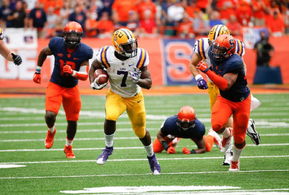 Video: Watch the best highlights from LSU running back Leonard Fournette this season as he tries to win the Heisman Trophy _lowres