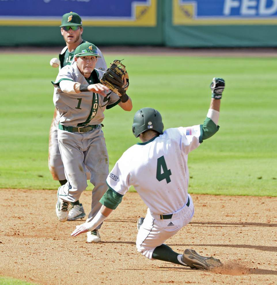 Southeastern Louisiana baseball stays alive in Baton Rouge regional with 3-2 victory over Utah Valley State _lowres